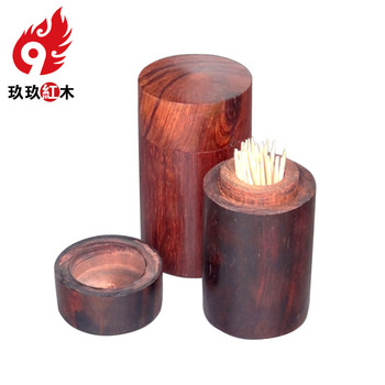 Rosewood mahogany Toothpick Holder exquisite craft creative fashion portable high-speed toothpick box storage tanks Value Price
