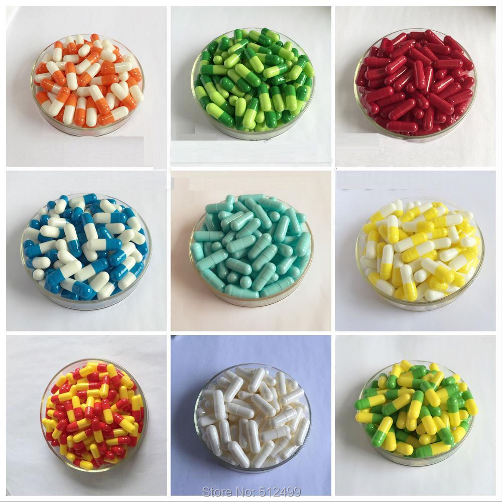 0# 200pcs/lot.0 size High quality colored hard gelatin empty capsules, hollow gelatin capsules ,joined or separated capsules цена 2017