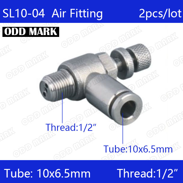 Free shipping 2pcs/lot 10mm to 1/2 SL10-04,304 Stainless Steel Speed Connector free shipping 2pcs lot 1 2 sanitary stainless steel sample valve 10mm od hose barb