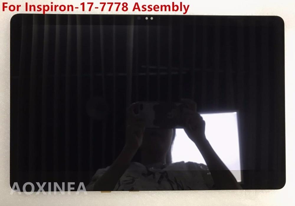 17.3 LCD LED Ekran Digitizer Zgromadzenie B173HAN01.0 do For DELL INSPIRON 17 7778 FHD dell inspiron 3558