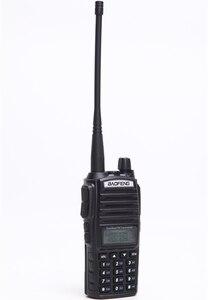 Image 2 - Baofeng UV 82 워키 토키 10 km 듀얼 ptt 양방향 무선 듀얼 밴드 핸드 헬드 휴대용 uv 82 트랜시버