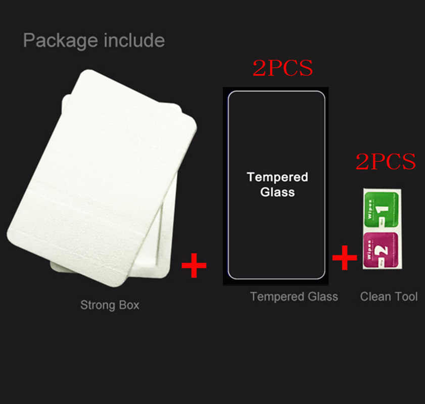 2PCS 9H Tempered Glass for Doogee BL12000 Pro BL5000 BL7000 Mix X20L X20 X30L X30 X55  Protective Film Screen Protector