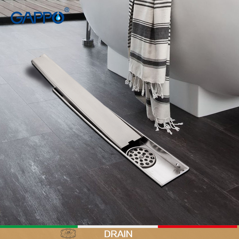 Stainless Steel Bathroom Floor Drain 900MM Linear Long Shower Grate ...