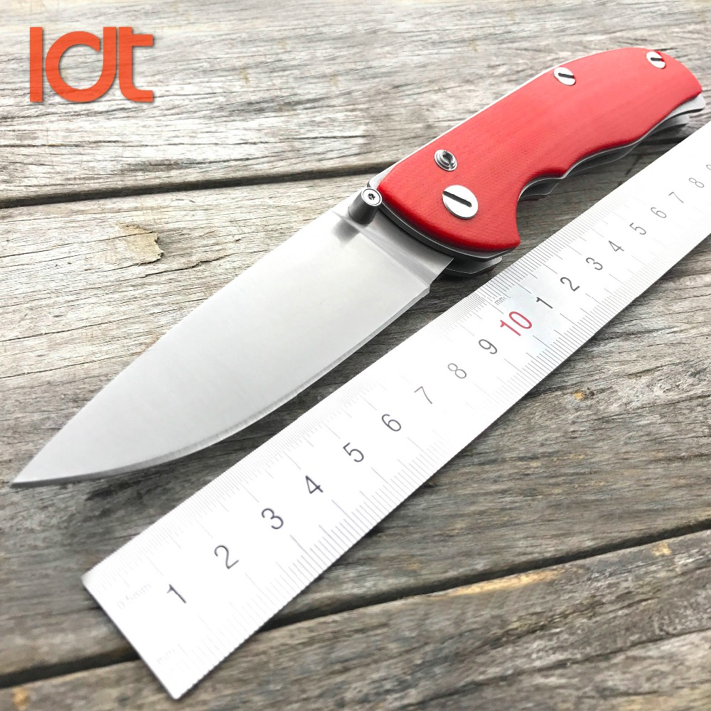 LDT Bear Tabargan <font><b>95</b></font> Folding <font><b>Knife</b></font> D2 Blade G10 Handle Tactical Survival Camping <font><b>Knife</b></font> Utility Outdoor <font><b>knife</b></font> Pocket EDC Tools image
