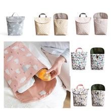 Детские Пеленки сумки для беременных сумка Водонепроницаемый влажной тканью пеленки рюкзак сухой мокрой сумка для уход за ребенком для мамы