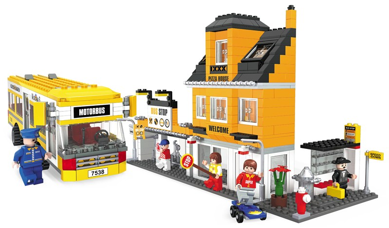model building kits compatible with lego city bus stop 1072 3D blocks Educational model & building toys hobbies for children lepin 05032 star wars rex s at te model building kits compatible with lego city 3d blocks educational toys hobbies for children