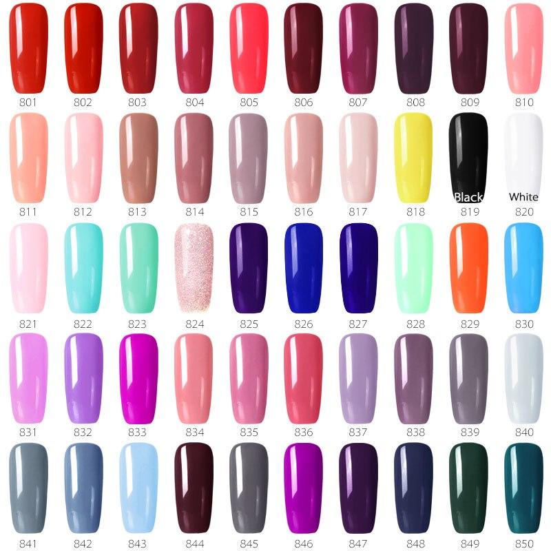 55 шт. * 8 мл Цвет ногтей Гель-лак GDCOCO цена длительный гель лак для ногтей Canni питания Primer Base пальто Nowipe Top Coat комплект