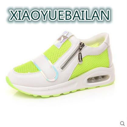 Respirant Army Net Green New Couleur Chaussures Confortable La 2017 Femmes Air blanc Blanc Petit Plat À Mode Sucrerie De Summer wUTnIxfqY