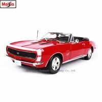 Maisto 1:18 1967 Chevrolet Camaro SS 396 Alloy Retro Car Model Classic Car Model Car Decoration Collection gift