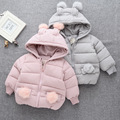 2016 Winter children 's clothing cotton clothing baby  girls  thick cotton jacket children' s jacket age from 1-3T