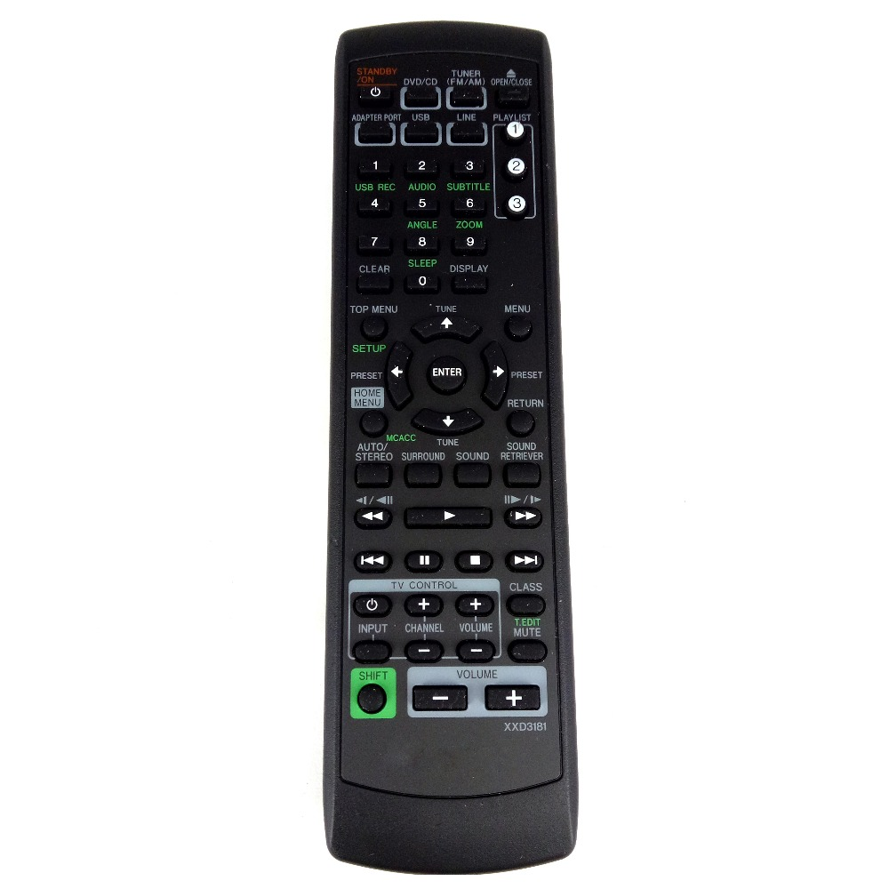 ORIGINAL REMOTE CONTROL FOR Pioneer XXD3181 Replace The XV-DV595K XV-DV395K DCS-368K DCS-385K BD DVD Fernbedienung original new vnp1713 for pioneer dvd laser lens vnp1713 a vxx2653 vxx2658 dv s5d s6d s10a