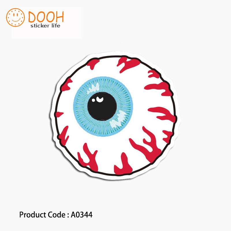 A0344 sticker eyeball donut fist hand zombie baseball suitcase laptop guitar luggage DIY skateboard bicycle toy HZ 30A0344 sticker eyeball donut fist hand zombie baseball suitcase laptop guitar luggage DIY skateboard bicycle toy HZ 30