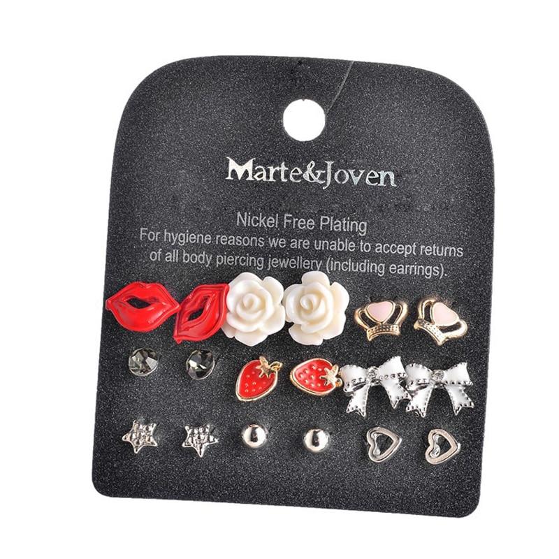 Marte & Joven New Fashion Կանաչ Քարի Ականջօղեր - Նորաձև զարդեր - Լուսանկար 6