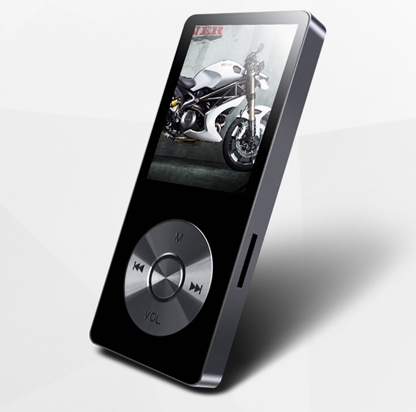 цена на New Metal 1.8Screen Music Player benjie Portable Digital Audio Player Original Brand Player MP3 with FM Radio Voice Recorder