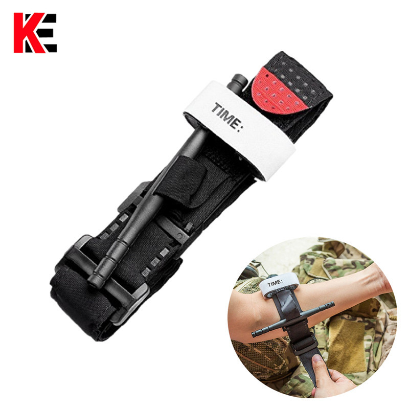 First Aid Tourniquet Quick Slow Release Buckle Medical Tourniquet Military Outdoor Portable Tactical Emergency Strap One Hand