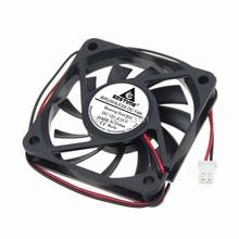 20Pcs Gdstime DC 12V 2 Pin Ball Bearing 60mm PC CPU Cooling Fan Case Cooler 60x60x10mm