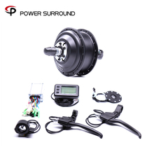 Bicicleta Eletrica Real Hot Sale Electric 36v350w Front/rear Bike Conversion Kit Brushless Hub Motors With Ebike System