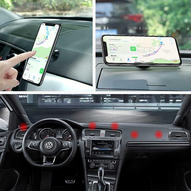 FLOVEME حامل هاتف السيارة المغناطيسي آيفون XS ماكس شاومي المغناطيس حامل للسيّارة للهاتف في سيارة 2 نمط حامل هاتف محمول المحمول