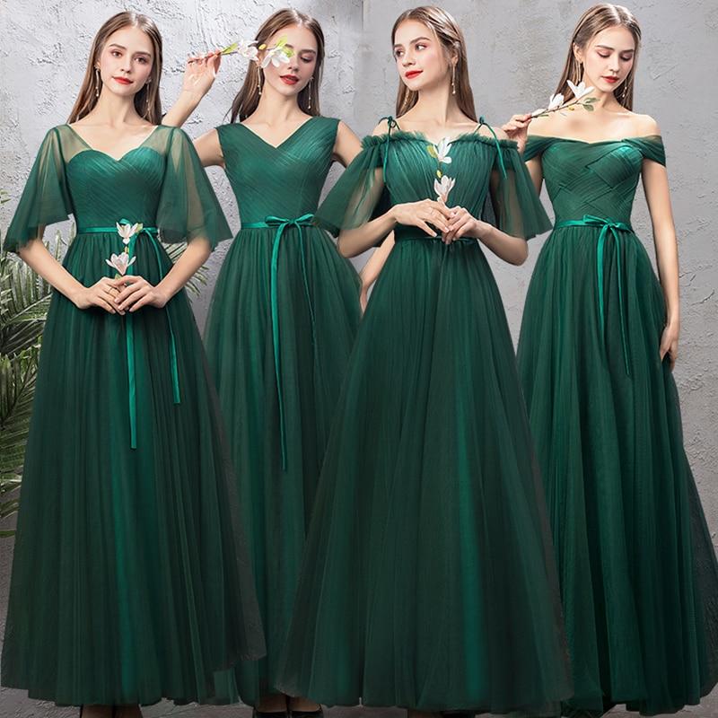 Bridesmaid     Dress   Long 2019 dark Green   Bridesmaid     Dress   Graduation Costume Burgundy   Bridesmaid     Dresses   Special Occasion   Dresses