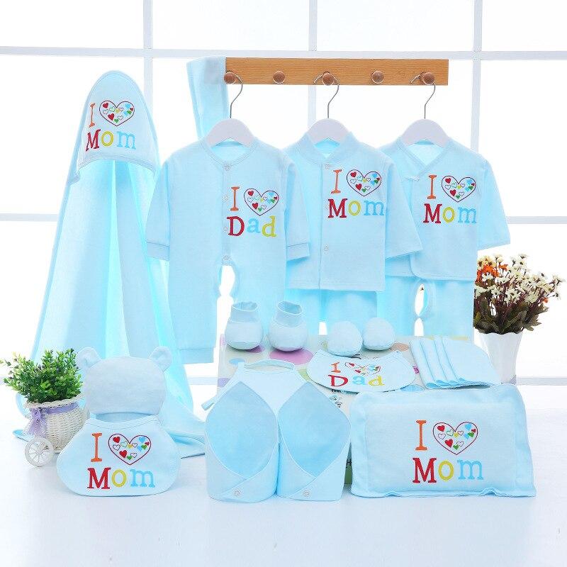 Эмоции мамы для новорожденных 0-3 м Костюмы комплект для маленьких мальчиков штаны для девочек Рубашка нагрудники шляпа одежда 100% хлопок ком...