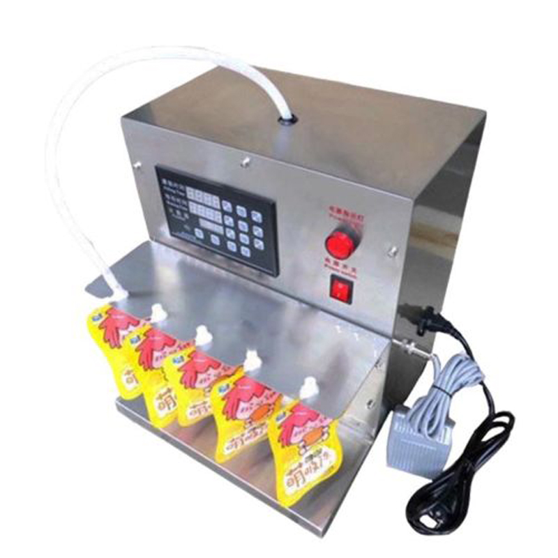 High Quality Automatic Control Stand Bag Soy Milk Water Beverage Liquid Filling Machine 3LHigh Quality Automatic Control Stand Bag Soy Milk Water Beverage Liquid Filling Machine 3L