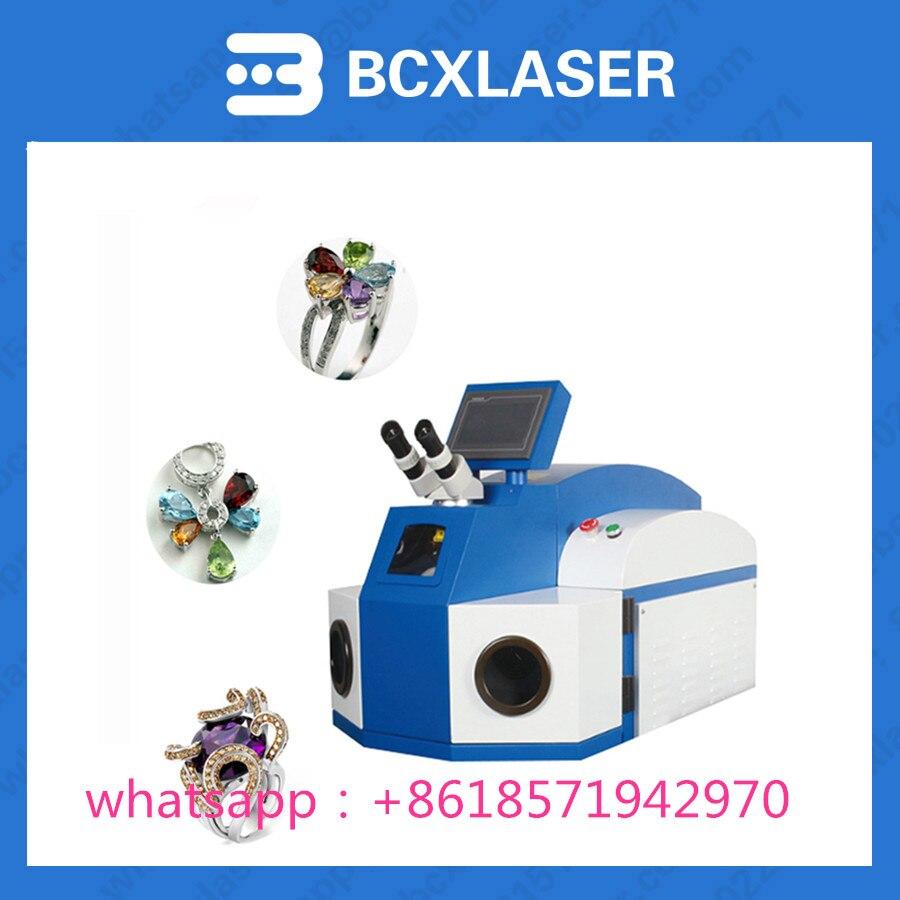 BCX laser usine vente or argent bijoux automatique laser machine de soudage par points avec des prix bon marché - 5