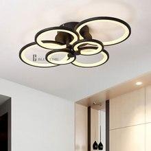White&Black Modern LED Chandelier