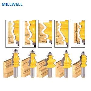 Image 1 - 5 STKS 12.7mm Gratis verzending houtbewerking router bit, vhm mill, hout frees, zwaluwstaart cutter, CNC hout tool