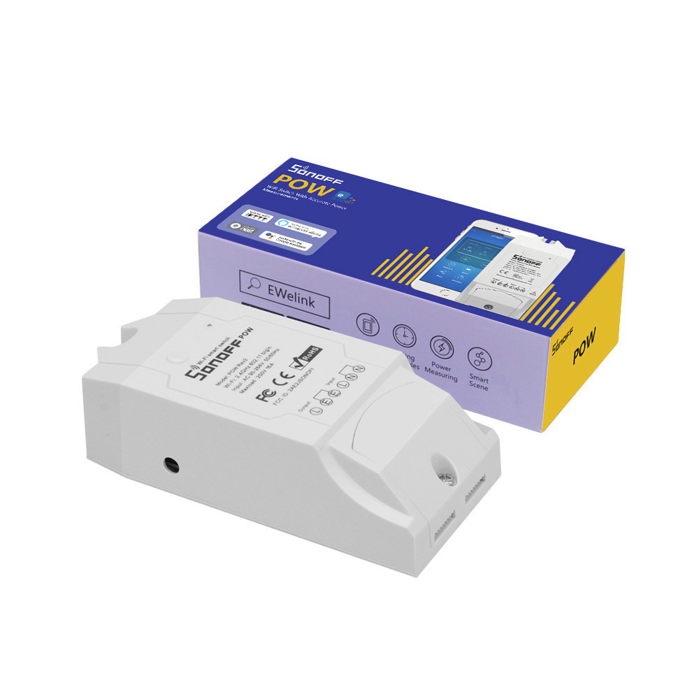 Sooff Pow R2 Statistical Switch Voltage Detection Easy Micro Wifi Intelligent Socket