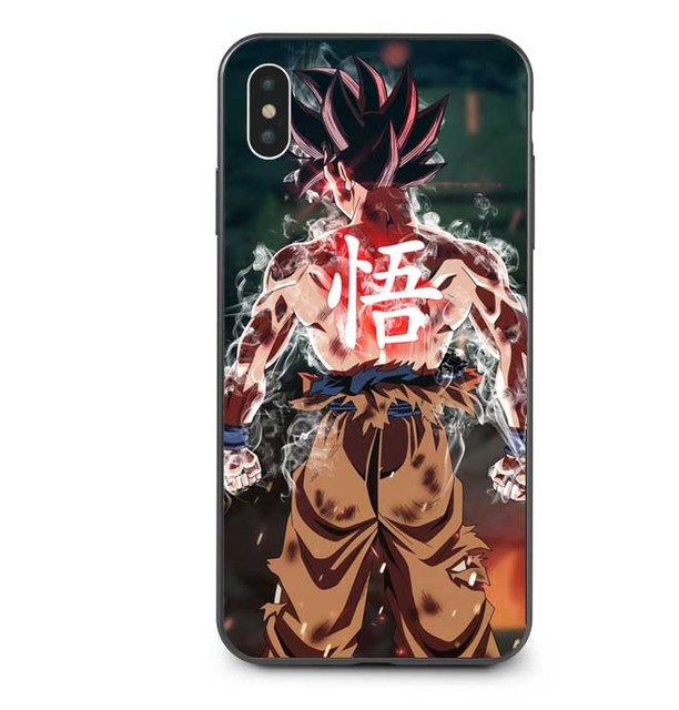 Dragon Ball Goku Case Cover For iPhone Models
