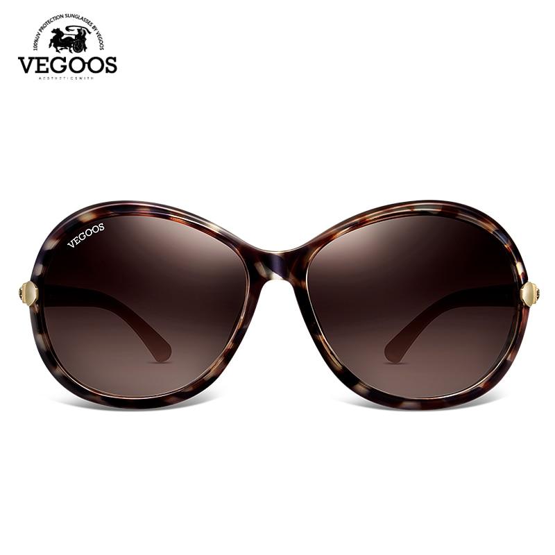 98f625221707f VEGOOS Luxury Brand Designer Polarized Sunglasses sun Glasses Women New  Classic Retro Oval Round Big oculos