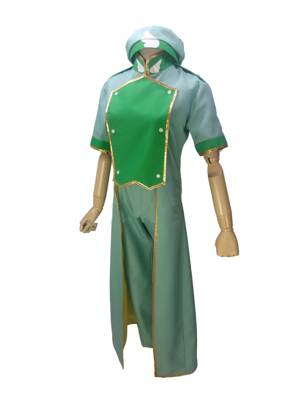Tenue uniforme verte Sakura Syaoran Li Showron 2018