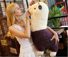 fillings toy large 75cm cute purple alpaca plush toy soft doll hugging pillow birthday gift s1053