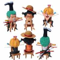 One Piece Affe D. Luffy Roronoa Zoro Vinsmoke Sanji Anime modell abbildung cartoon kinder puppen geschenk action PVC