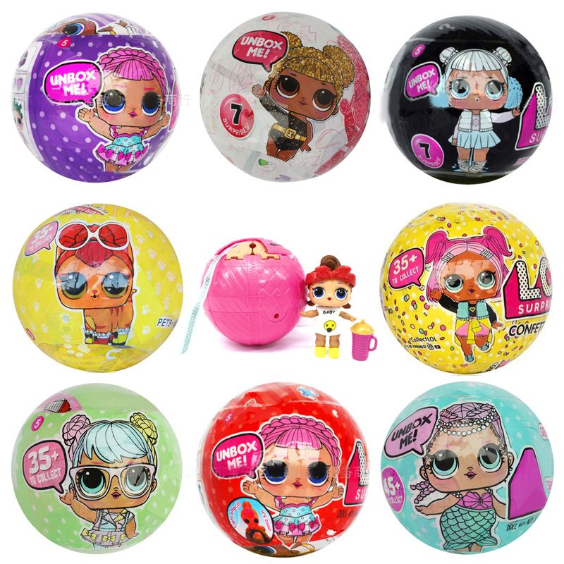 New Pop Dolls 12 style surprise eggs ball shiny powders toys ffor chilren girl boy birthday christmas day gift женские пуховики куртки shiny day 2015 xxxl smtt011