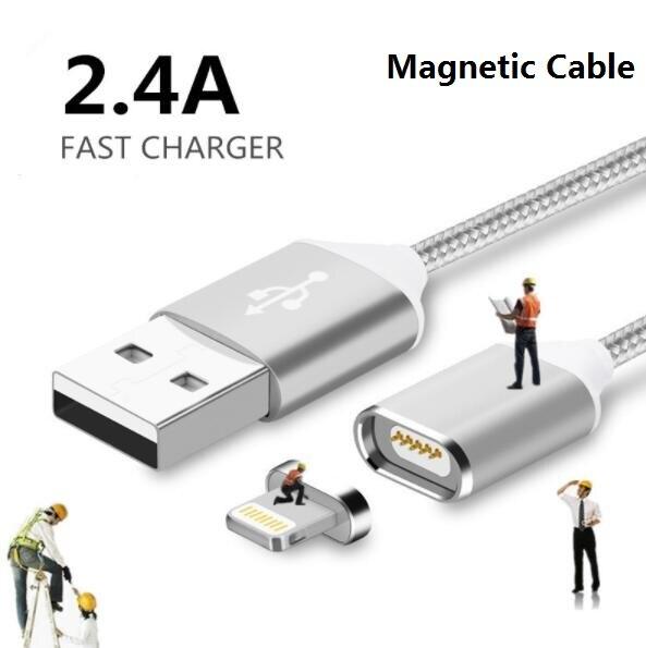 Magnétique Pour iphone Câble de Données De Charge Mobile Téléphone Chargeur + Home Power Mur Chargeur Adaptateur
