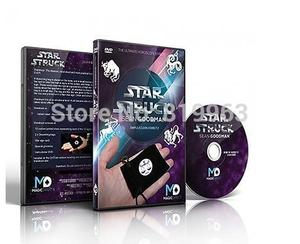 Starstruck (DVD and Gimmick) Magic Tricks Zodiac Card Magie Prediction Stage Close Up Props Illusion Mentalism Magia Toys Joke(China)