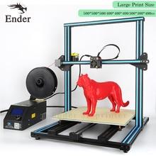 CR-10 5S 3D printer Kit 500*500*500mm Large print Size Filament Monitoring Alarm,Dual-Z Rod 3D printer DIY Kit Creality 3D
