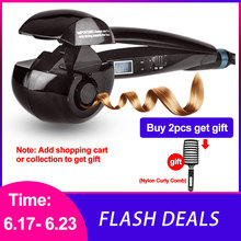 Get more info on the LCD Screen Automatic Curling Iron Heating Hair Care Styling Tools Ceramic Wave Hair Curl Magic Hair Curler