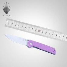 Kizer folding knife mini domin V3516 G10 handle small high quality survival edc hand tools
