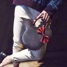купить Best selling women's mobile phone bag cartoon female Messenger  shoulder bags Crossbodyr cute fashion pu bags  creative handbag по цене 1072.71 рублей