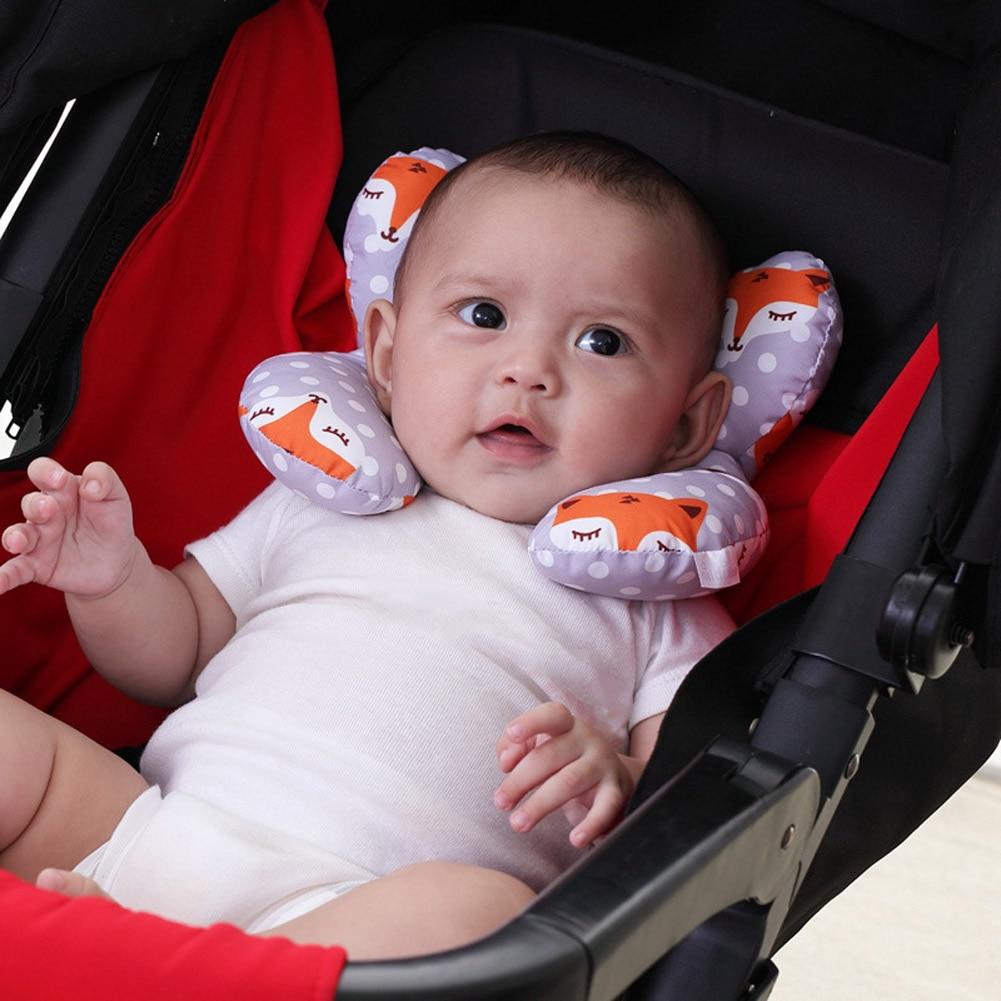 Baby Newborn Stroller Cushion Infant Sleeping Soft Pillow Safe Car Neck Protection Pillows