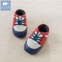 DB6734 ديف بيلا الطفل الفتيان لينة الأولى مشوا المولود الجديد جلد طبيعي لطيف أحذية