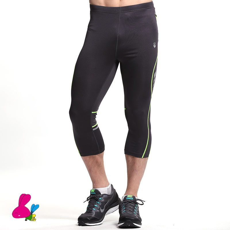 Compression Running Pants Men S 3 4 Jogging Pants Gym Clothing Sports Tights Fitness Legging Running Pants Basketball Sweatpants Running Pants Running Pants Mencompression Running Pants Aliexpress
