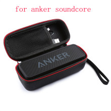 2017 Newest Carry Case Travel Pouch Protective Case For Anker Soundcore Dual-driver Bluetooth Speaker Extra Space For Cable(China)