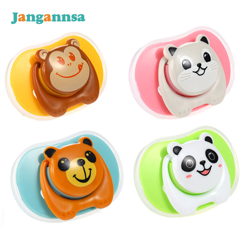 Cartoon Baby Pacifier Nipple&Thumb Type Pacifier Safety Silicone Animal Teeth Soother New Toddler Cute Pacifiers Baby Feeding