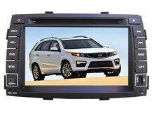 Android 6.0 dvd-плеер автомобиля головное устройство для Kia Sorento 2011-2012 GPS Радио BT магнитофон стерео системы бесплатная карта