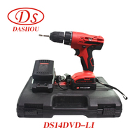 DS 14.4V Lithium Rrechargeable Hand Drill DS14DVD LI Electric Screwdriver Impact Drill Driver Power Tool 1 PC