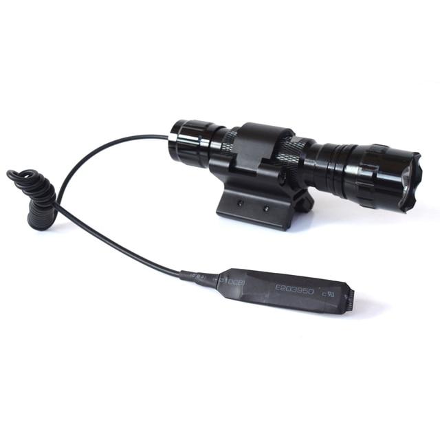2000Lm 1 Режим T6 XML T6 LED Охота Фонарик Лампы Linterna LED Фонарик + Дистанционный Переключатель + Сильный Двойной Магнитный X артиллерийская установка