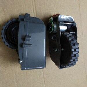 Image 5 - Accessoires pour aspirateur Robot, roues gauches et droites, pièce pour aspirateur Robot Panda X500